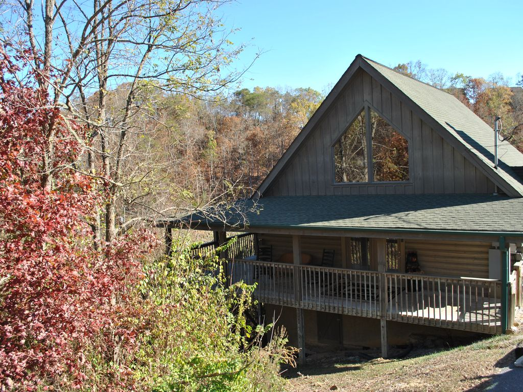 Celebrate summer in the great smokey mounta vrbo for Eagles view cabin sevierville tn