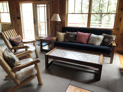Photo for Cozy, Beautiful 4BR, 2 Bath Chalet on Lake Christopher by Sunday River