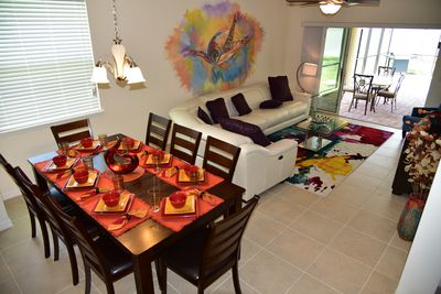 """Great Room - Plenty of room for a large group, relax and watch the 60"""" smart tv"""
