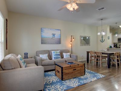 Photo for Brand New Beautiful Townhouse just a Short Walk off the Beach!