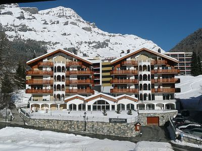 Photo for Apartment in the center of Leukerbad with Internet, Lift, Parking, Washing machine (340244)