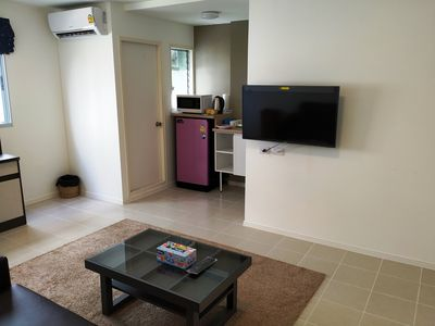 "Photo for Family Apartment ""My Home In Bangkok"" C3/223 swimming pool,  gym, courts, etc"