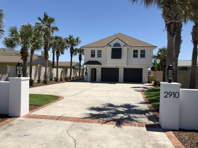 Gorgeous oceanfront home with recently added beautiful landscaping.