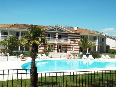 "Photo for House in Private Residence with pool ""Domaine des Sables"" Soulac. 6/8 people"
