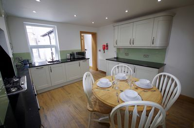 Kitchen view 2 Dandy Rig Holiday Cottage Filey