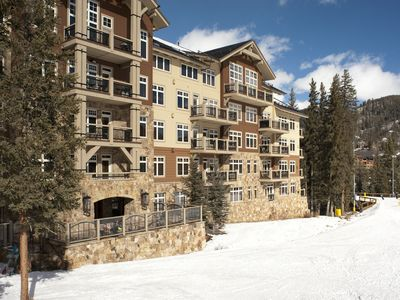 Photo for Ski-In Ski-Out 2BR/3BA Condo with Mountain Views!