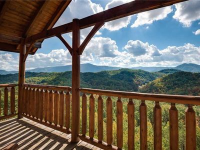Photo for Appalachain Villa: Unobstructed View Of Smoky Mountain