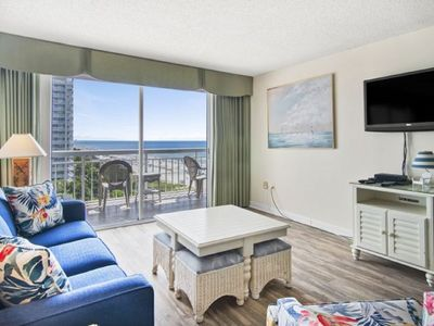 Photo for Kingston Plantation South Hampton #707, Spacious 2 BR Ocean View Condo with Outdoor Swimming Pool