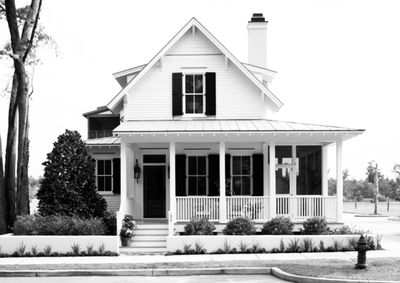 Conceptual photograph of how the home will look upon completion.