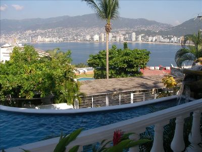 Photo for Villa Ladomar - Las Brisas Guitarron - Incredible Bay View!