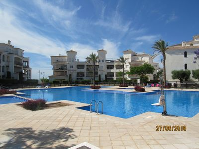 Photo for 2nd Floor Apartment with good views, Wifi, Aircon and Great Pool!