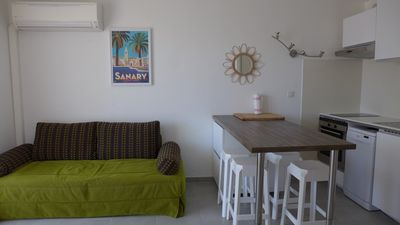 Photo for apartment with closed garage, beach at 150m, St-Cyr la Madrague