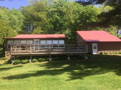Photo for Waterfront property in quiet area yet so close to attractions/shopping