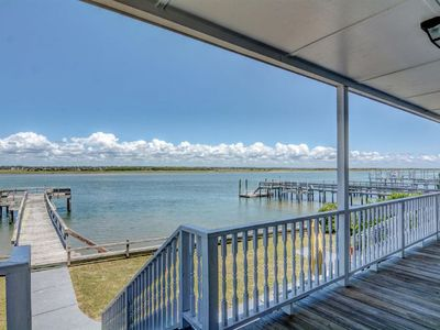 Photo for Sound-front Home with private dock and incredible sunset views