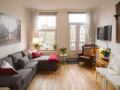 Photo for Stunning two bedroom apartment, that can accommodate four guests, located in the Old West area of Am