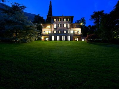 Photo for Luxury estate for 20 people with pool, tennis and much more!