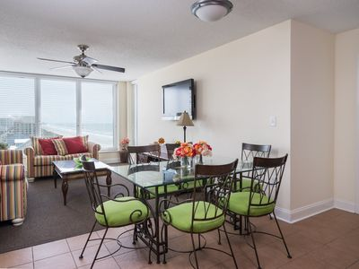 Photo for Bahama Sands -  901 2 Bedroom, 2 Bath Unit With Ocean and City Views.