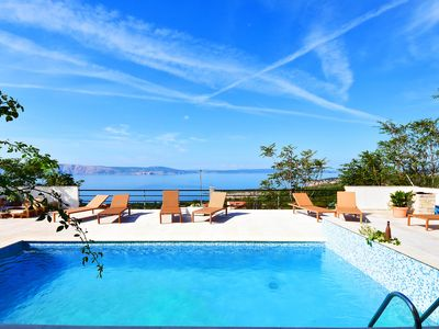 Photo for This 7-bedroom villa for up to 14 guests is located in Novi Vinodolski and has a private swimming po