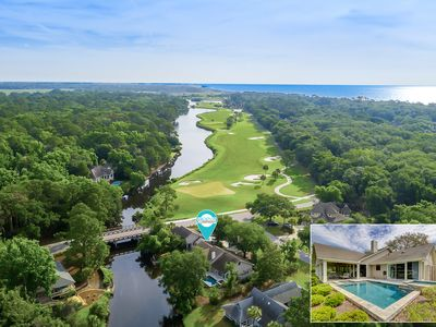 Photo for 2 Rum Row - Beautiful Palmetto Dunes Home with Lagoon Views