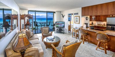 Photo for Royal Kahana 1012 - OCEAN FRONT Penthouse level condo!