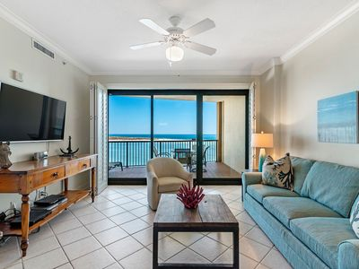 Photo for Grand Pointe 702- Directly Beachfront with Gorgeous Views of Perdido Pass!