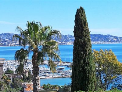 Photo for Villa sea view, heated pool, walking distance to the beach and shops