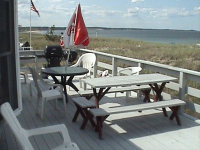 Photo for Sagamore Beach, Direct Beachfront 3 BR/2 BA Cottage