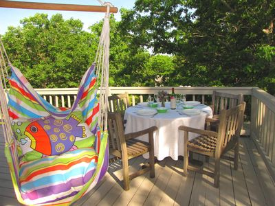 Photo for Close to Long Point Beach!- Large Wrap Deck,Yard,Outdoor Shower, Hammock, Wifi
