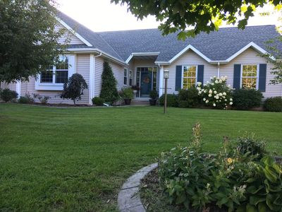 Photo for Cozy Green Bay home in quiet suburban neighborhood & minutes from Lambeau Field.