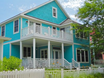 Front - You are sure to love this beautiful beach home located right in the heart of Beachwalk.