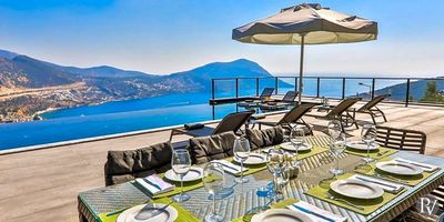 Photo for Kalkan Villa, Sleeps 8 with Pool and Air Con