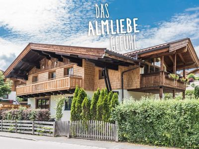 Photo for Almliebe Apartchalet - apartment / apartment, shower, toilet, 2 bedrooms