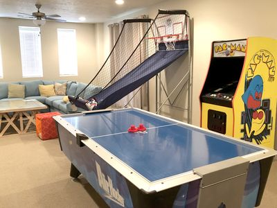 Photo for 44|Sleeps 24 + Steps to Pool + Arcade Games + Slide + Theater