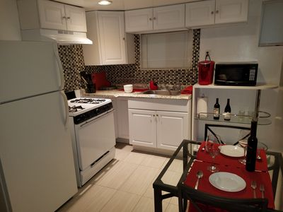 Photo for Welcome to LBC! Private Entrance & Bath, Full Kitchen