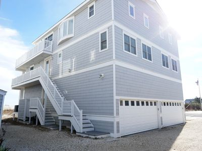 Photo for Townsends Inlet beach front property has 3 living levels