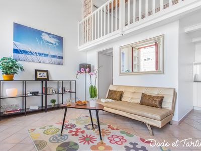 Photo for Awesome flat with sea view