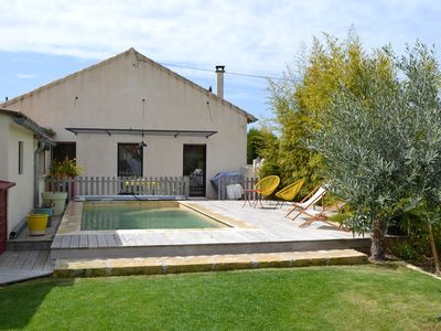 Photo for House with heated pool on foot from the center of St Rémy