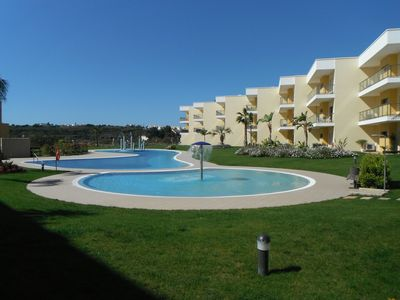 Photo for Albufeira, Marina Apartment between sea and greenery in residence