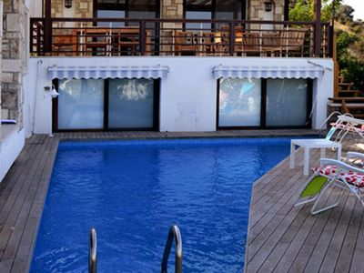 Photo for 5+1 Daily Rental Villa With Private Pool in Ortakent. Suitable for large groups