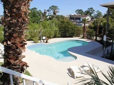 Photo for RATES CUT $50 PER NIGHT FOR JULY. Fun In The Sun House 3bd/3ba with Private Pool and Private Boat Slip,  Sugar Sands
