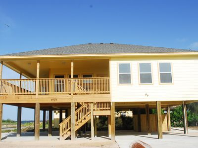 Photo for Snapper Lodge lavish newly built vacation home on the Laguna Madre Bay