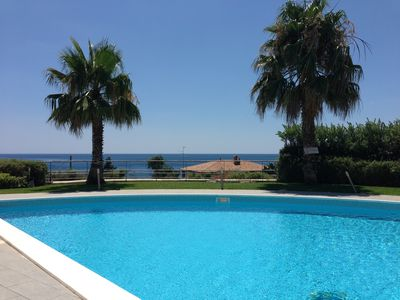 Photo for Thea - House with pool and private beach access - reserved parking space