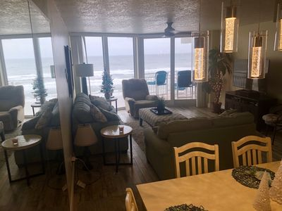 Remodeled condo on the beach