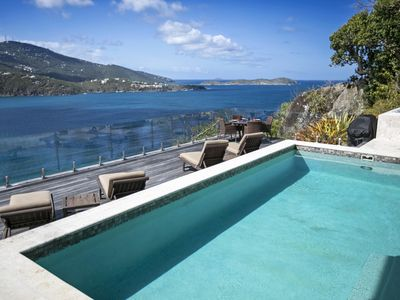 Photo for Pallina - Luxury and privacy overlooking Magen's Bay