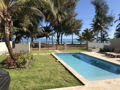 Photo for Beautiful and Luxurious Beachfront Pool House next to Rio Mar Rst. (See Video)