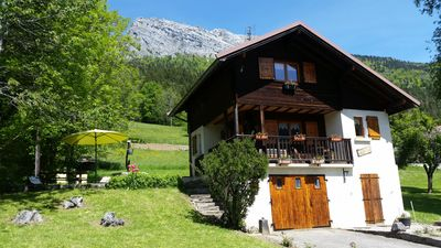 Photo for Independent chalet 3 *, near the resorts of Aravis and Lake Annecy
