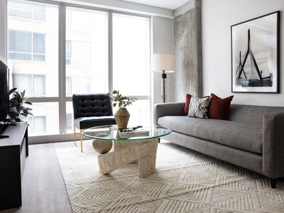 Photo for Sonder | Pierce Boston | Sleek 1BR + Gym