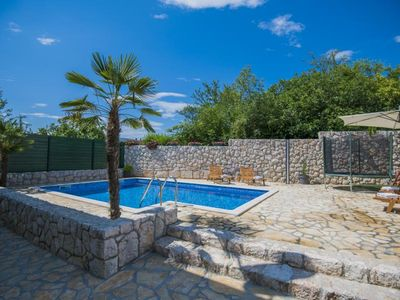 Photo for ctim227 - Zmijavci - Makarska, modern holiday home with pool, up to 8 people, children's playground
