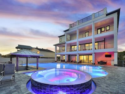 Photo for 20% OFF September Stays! TWO Brand New Homes w/ Pools & Rooftop Decks on 30A! Sleeps 60!