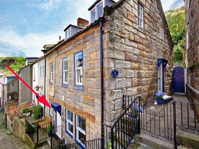 Photo for GRIMES NOOK, pet friendly, with open fire in Staithes, Ref 933837